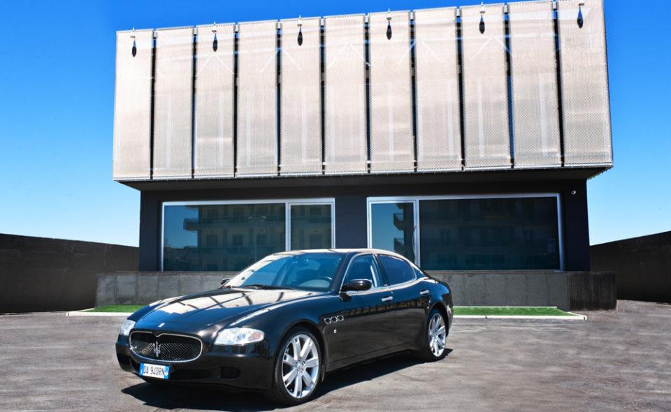 Autonoleggio auto di lusso NCC Bari Pasquale Vallone group Puglia maserati sport gt